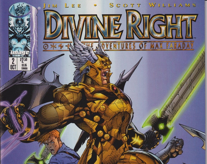 Image 2 Divine Right October 1997 The Adventures of Max Faraday  First Printing (Comic: Divine Right, Max Faraday)