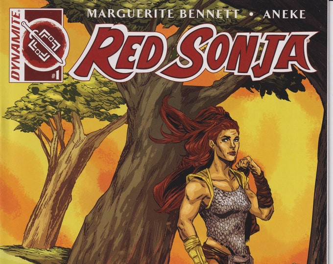 Dynamite #1 Red Sonja Ming Doyle Incentive Variant  2016 (Comic: Red Sonja)