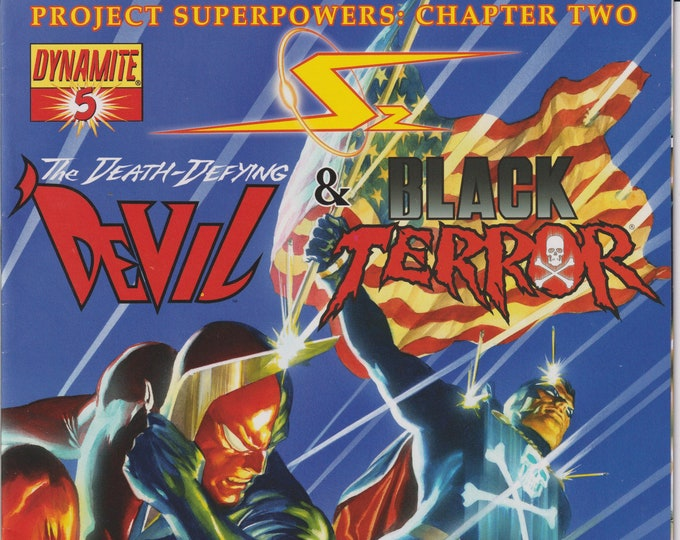 Dynamite #5 The Death-Defying Devil & Black Terror  (Comic: Death-Defying Devil)