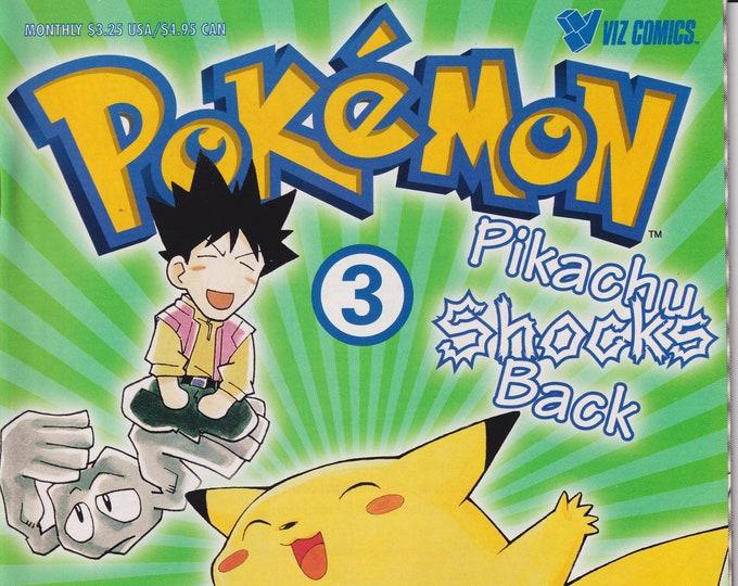 Pokemon #1 Pikachu Shocks Back (Comic Book: Pokemon) 1999