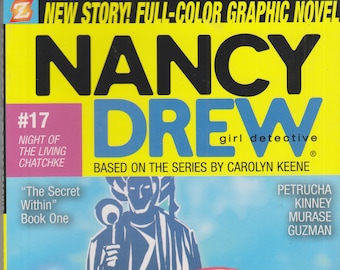 Nancy Drew #17 - Night of the Living Chatchke  (Softcover: Graphic Novel) 2009