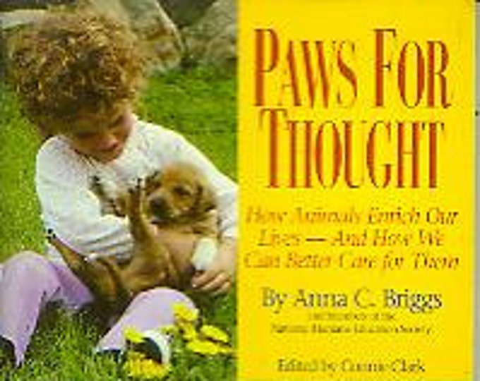Paws for Thought by Anna C Briggs (Paperback:  Nonfiction, Animals) 1997