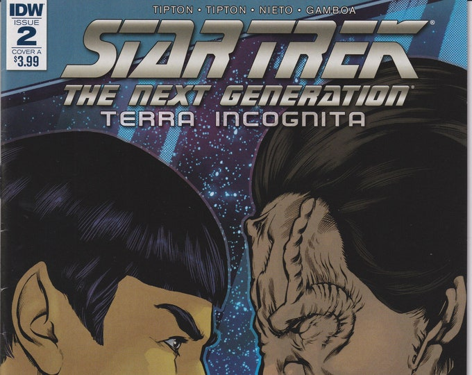 IDW Issue 2 Cover A Star Trek The Next Generation Terra Incognita August 2018 First Printing  (Comic: Star Trek)