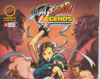 Udon Comics #4 Cover B Street Fighter Legends Chun-Li August 2009 (Comic: Street Fighter
