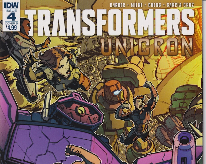 DW 4  August  2018 Cover B  Transformers Unicron (Comic: Transformers)