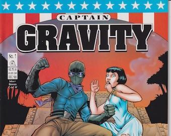 Penny Farthling Press #1 December 1998 Captain Gravity (Comic: Captain Gravity)