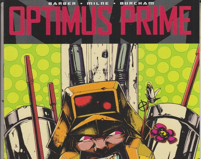 IDW Issue 4 February 2017 Optimus Prime  First Printing  (Comic: Transformers, GI Joe)