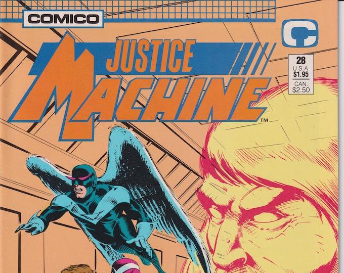 Comico #28 Justice Machine (Comic: Justice Machine, Copper Age Comic)