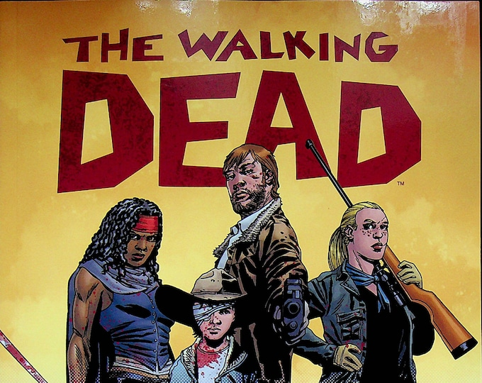 The Walking Dead Coloring Book   (Paperback: Adult Coloring Books, TV Shows) 2016 First Printing