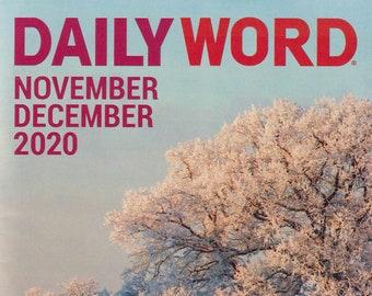 Daily Word November December 2020 (Magazine: Inspirational)