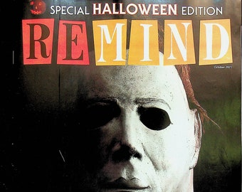 ReMIND October 2021 Special Halloween Edition (Magazine: Nostalgia, Puzzles, Celebrities)