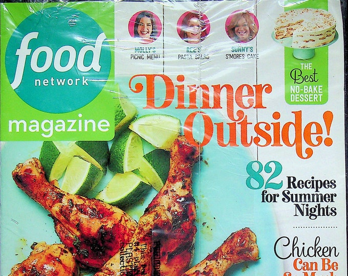 Food Network September 2020 Dinner Outside 82 Recipes for Summer Nights (Magazine: Cooking, Recipes)