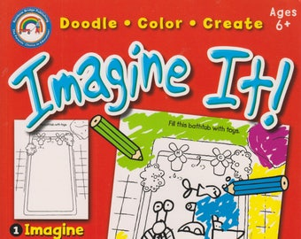 Imagine It!,   Doodle, Color, Create For Age 6+ (Softcover: Children's Activity)