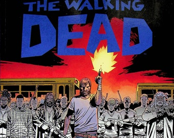 The Walking Dead Rick Grimes Coloring Book   (Paperback: Adult Coloring Books, TV Shows) 2016 First Printing