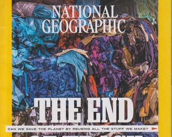 National Geographic March 2020 The End of Trash  (Magazine: Geography, History, Nature, Photography)