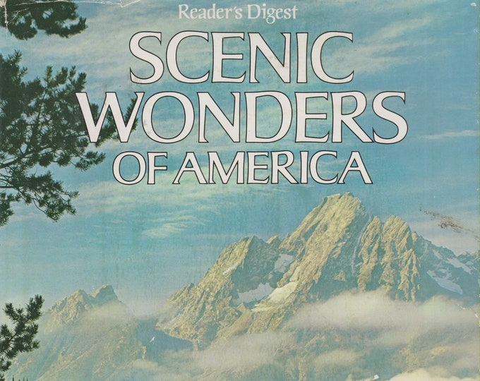 Reader's Digest Scenic Wonders of America    (Hardcover, Travel, United States) 1981
