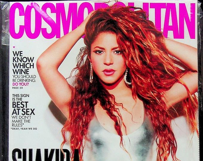 Cosmopolitan November 2021 Shakira Surfs Now?! (Magazine: Women's)