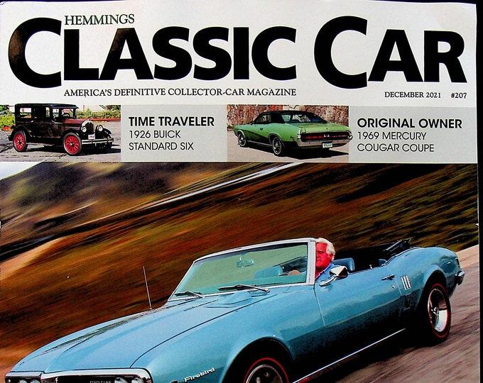 Hemmings Classic Car December 2021 Jay Leno's Pontiac OHC-6  (Magazine: Automotive)