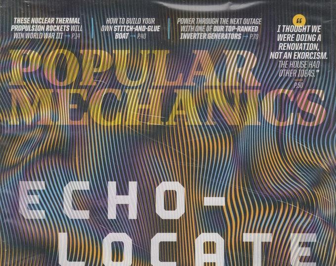 Popular Mechanics September October 2021 Echo-Locate Much?  (Magazine: General Interest)