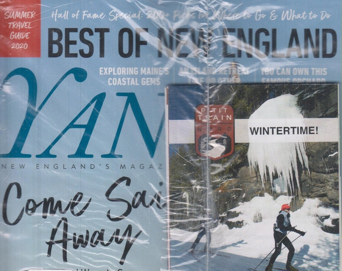 Yankee May June 2020 Best of New England - Come Sail Away  (Magazine: New England, Travel)