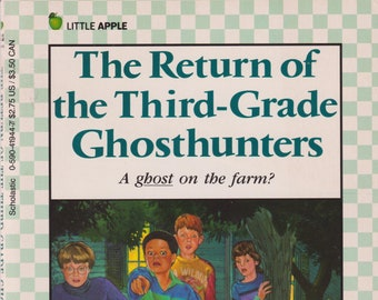 The Return of the Third Grade Ghosthunters by Grace Maccarone (Paperback: Grade 3 Ages 7-10  Chapter Book) 1989