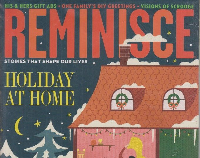 Reminisce December/January 2020 Holiday At Home   (Magazine: Nostalgia)