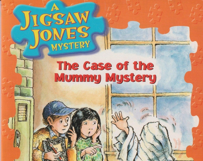 The Case of the Mummy Mystery  - A Jigsaw Jones Mystery  (Paperback: Children's  Ages 6-9  Chapter Book)