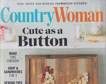 Country Woman February March 2021 Cute as a Button  (Magazine: Home & Garden)