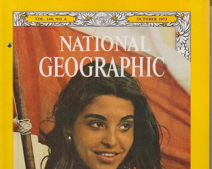 National Geographic October 1973 Chile; The Padlock Ranch; Istanbul; Ngorongoro; Colorado; Turtle Beach (Magazine: Nature, Geography) 1973