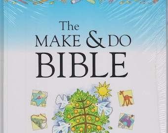 The Make & Do Bible - Reproducible Craft Ideas for Ages 6-12 [With Reproducible Book]  (Hardcover: Religious, Teaching, Crafts) 2006