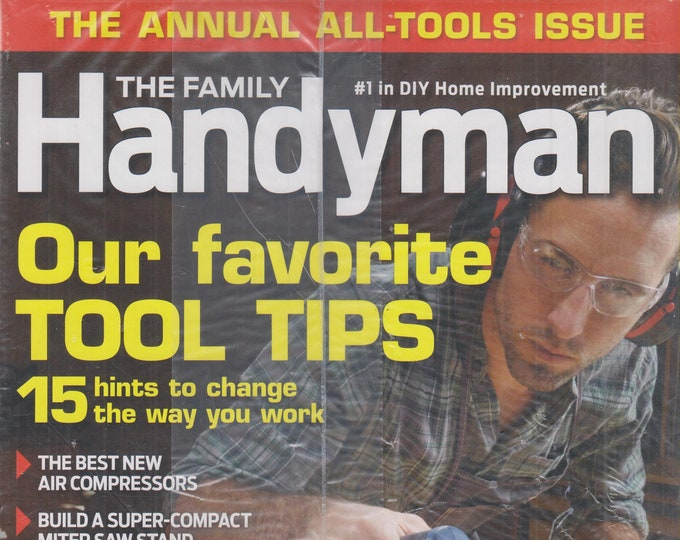 The Family Handyman November 2015 Our Favorite Tool Tips (Magazine, DIY, Home Improvement)