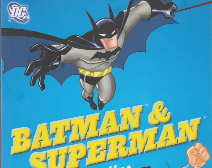 DC Batman and Superman Doodles Fearless Pictures to Complete and Create (Softcover: Children's, DC Comics, Art, Activity Book))