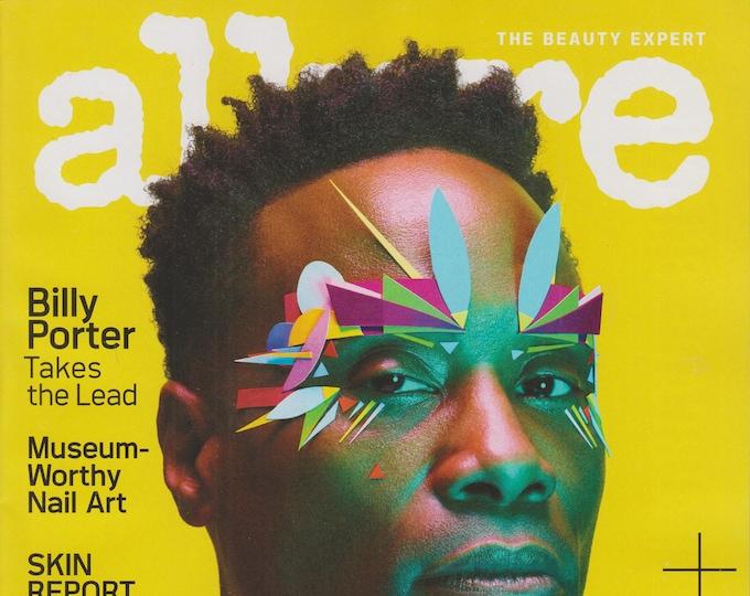 Allure February 2020 Billy Porter - The Art of Beauty  (Magazine: Beauty)