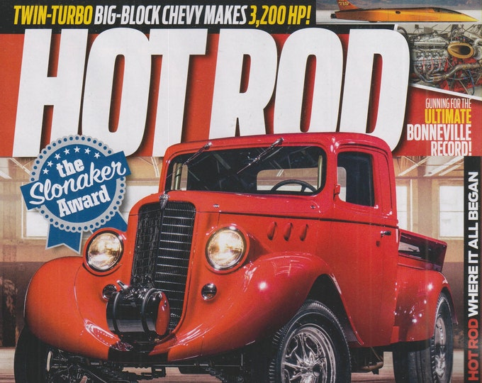 Hot Rod September 2020 1936 Willys Pickup is a Hand Built Masterpiece  (Magazine: Cars, Automotive)