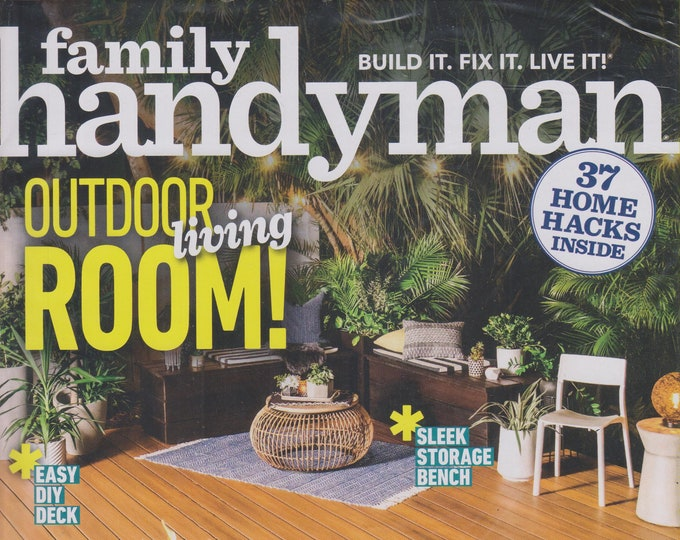The Family Handyman May 2019 Outdoor Living Room! (Magazine: DIY, Home Improvement)
