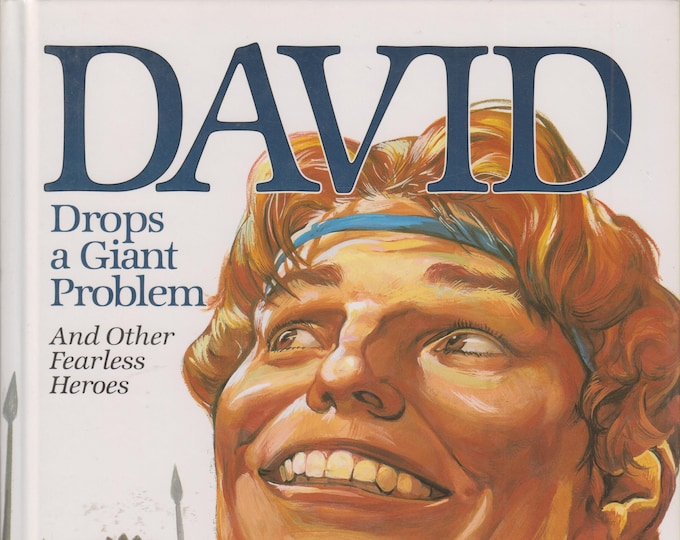 David Drops a Giant Problem - And Other Fearless Heroes (Hardcover: Religious, Children's) 1997