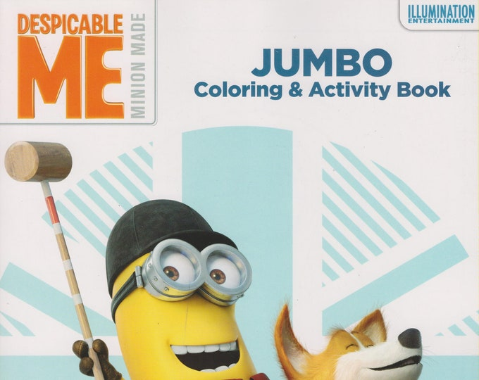 Set of Despicable Me Jumbo Coloring and Activity Book (Coloring Book; Despicable Me) 2017
