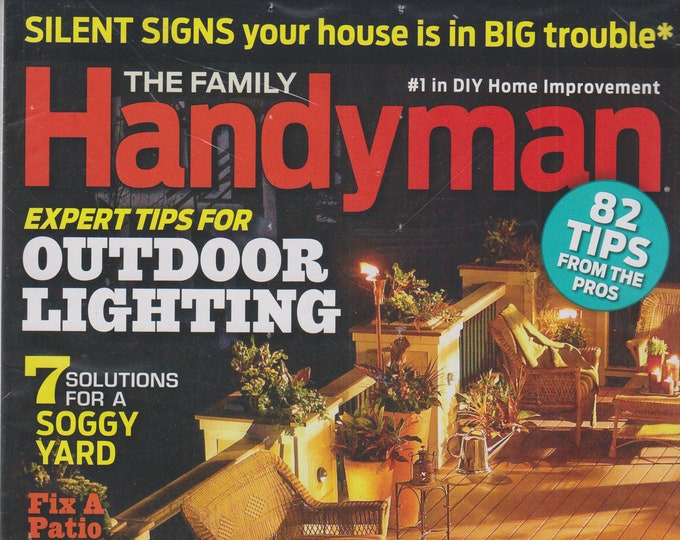 The Family Handyman April 2016 82 Tips from the Pros (Magazine, DIY, Home Improvement)