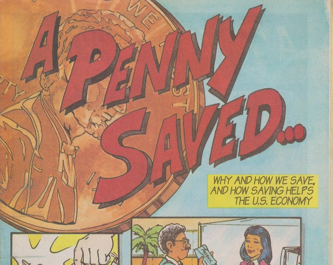 A Penny Saved... Federal Reserve Bank of New York (Comic Book 1995)