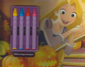 Disney Princess Princesses and Pumpkins (Color & Activity with 4 Chunky Crayons and over 30 Stickers)