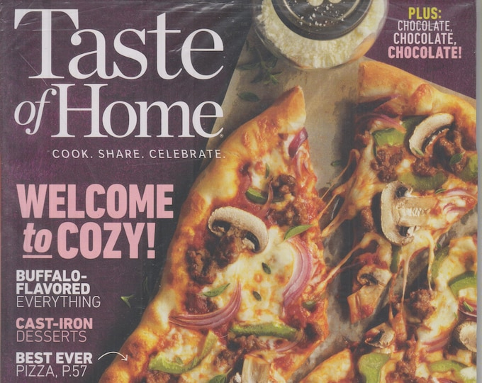 Taste of Home February/March 2020 Welcome to Cozy!   (Magazine: Cooking, Recipes)