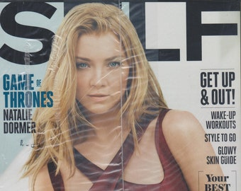 Self April 2015 Game of Thrones Natalie Dormer - Strong + Sexy  (Magazine Mind, Body, and Spirit)