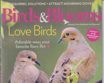 Birds & Blooms February March 2021 Love Birds, Kick Off Spring, Allergy Friendly Backyard  (Magazine: Birds, Gardening)
