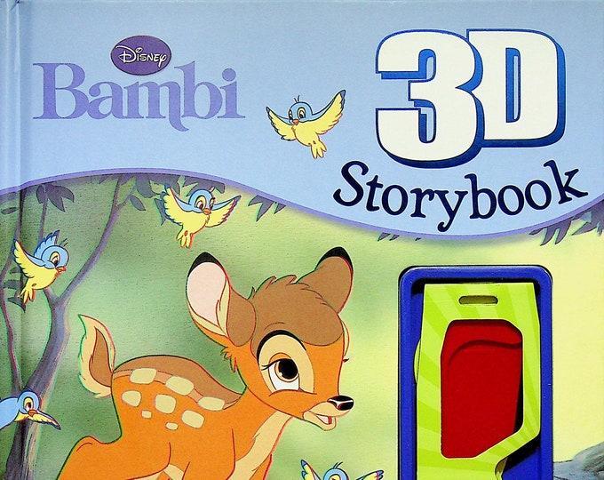 Disney's Bambi  (Disney 3D Storybooks)  (Hardcover:  Children's) 2012