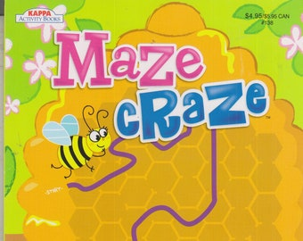 Maze Craze Vol. 7 Activity Book (Softcover: Children's, Mazes, Puzzles) 2018