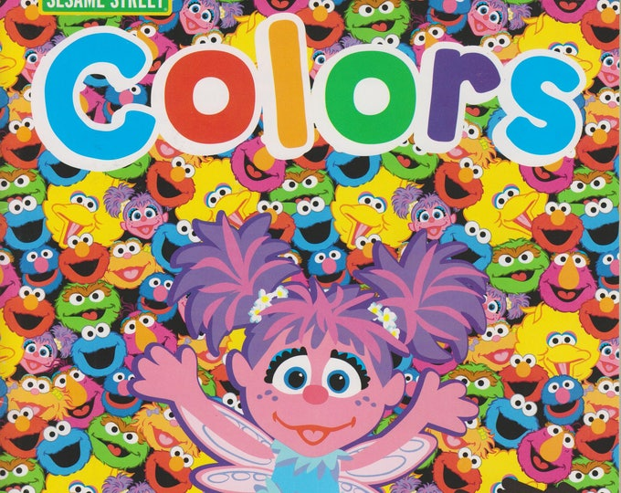 Sesame Street Colors With Abby Workbook