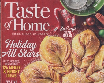 Taste of Home December 2020/January 2021 Holiday All Stars - 124 Merry and Bright Ideas (Magazine: Cooking, Recipes)