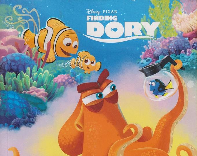 Disney Pixar Finding Dory Deep-Sea Dreams An Adventure Coloring Book (Softcover: Children's, Disney)  2016