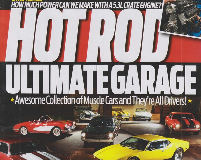 Hot Rod November 2021 Ultimate Garage   (Magazine: Cars, Automotive)