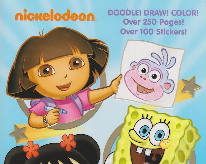 Nickelodeon Doodle Do It! (Dora the Explorer,  Kai-Lan, SpongeBob Squarepants) (Softcover: Children's, Art, Drawing, Doodling)